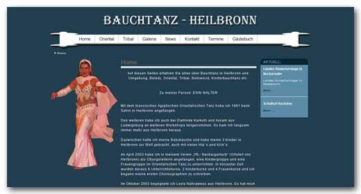 Website: Bauchtanz - Heilbronn