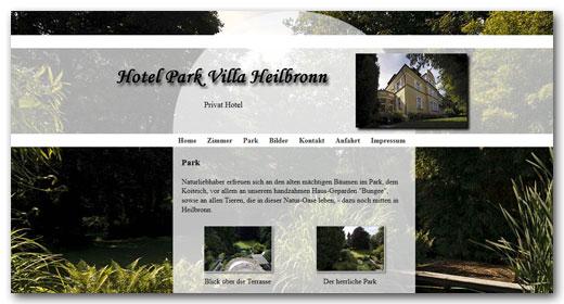 Website: Hotel Park Villa, Heilbronn