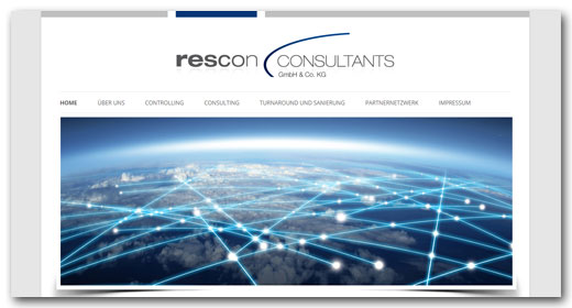 Website: Rescon Consultants, Neckarsulm